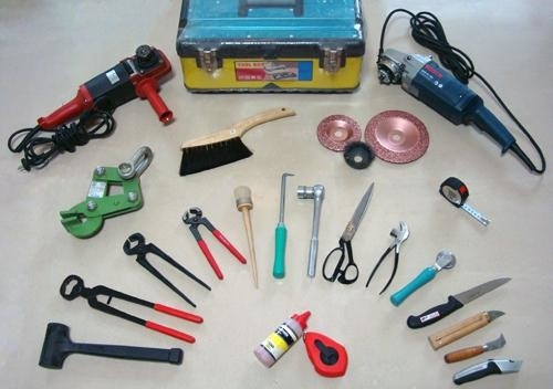 Maintenance Friendly Conveyor Belt Splicing Tools Angle Grinder Buffing Discs