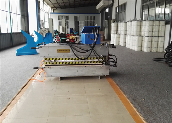 China Portable 44 Inch Conveyor Belt Vulcanizing Press With Water Cooling System factory