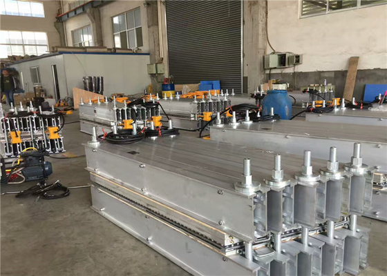China Aluminum Alloy Beams Conveyor Belt Vulcanizing Equipment With 72'' Press Pressure Bag factory