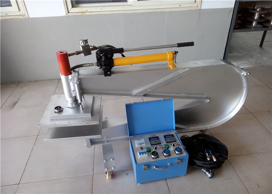 Manual Hydraulic Press Rubber Belt Repair Machine Equipped With Wheels